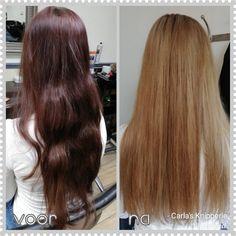 #mowan #megix #blondshavemorefun #carlasknipperie #colorchange #haircolor Haircolor, Color Change, Shaving, Long Hair Styles, Beauty, Hair Color, Long Hairstyle, Colored Hair, Long Haircuts