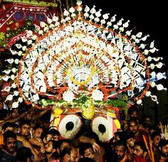 Every journey comes to an end. Similarly on #NiladriBije the Trinity will return back to their abode place. It is the last ritual of #Rathyatra. #JaiJagannath #Nabakalebar