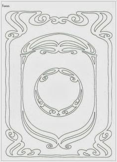 Коллекция картинок: Орнамент в стиле Модерн