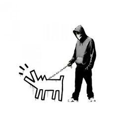 VIP White Choose Your Weapon -  Banksy screenprint 2010