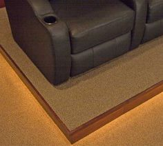 Home Theater Riser Kit - 8 Inches or 12 Inches High