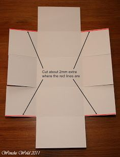 Wenches Kort og Papir: Bowl-box Tutorial!! Cards, Paper Products, Scrapbooking, Christmas, Tutorials, Gifts, Xmas, Navidad, Maps