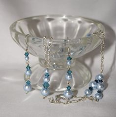 Handmade One of a Kind Swarovski Pearl and by byFoxdenCreations, $58.90