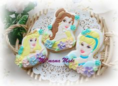 Disney Princess Icing cookie #princess