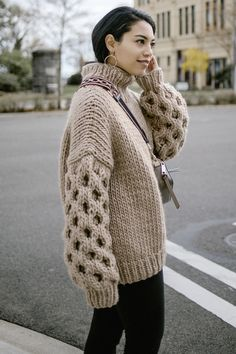 Women's Jumpers, Jumpers For Women, Thick Sweaters, Women's Sweaters, Chunky Knits, Knitwear, Pullover, Warm, Knitting
