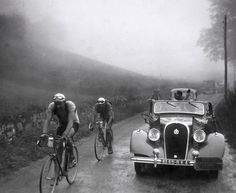 Col du Tourmalet #retro #cycling #1930s
