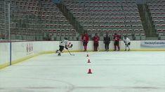 Hockey Workouts, Hockey Drills, Hockey Training, Skating, Canada, Hockey Stuff, Sports, Exercises, Ice
