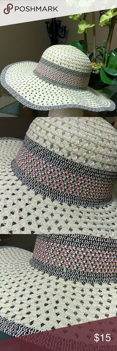 Cute Sun Hat Jazz this cute sun hat with a maxi dress and sandals on those beautiful summer days. Great on the beach with your sunglasses or on vacation. The perforated design makes this hat lightweight and airy. Offers welcome. Accessories Hats