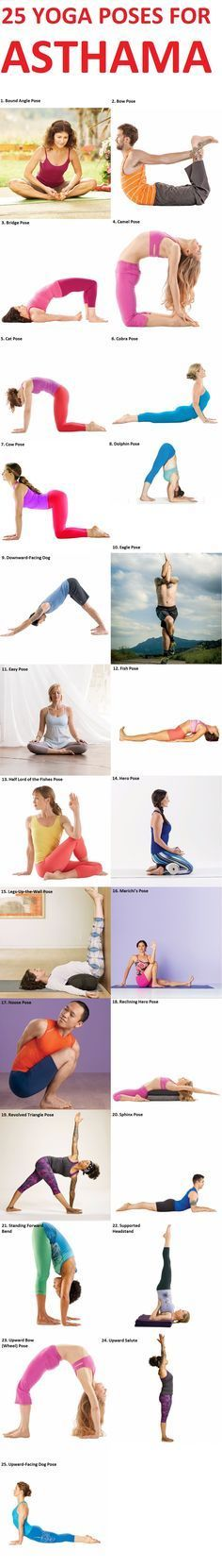 Yoga Poses to Treat Asthama