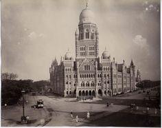 Beautiful Architechture in Bombay (Mumbai) - c1890's