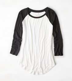 AEO Colorblocked Baseball T-Shirt - I just love these shirts. Had to have!