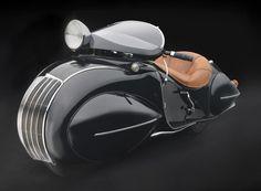 Qué diseño! || 1930 KJ Henderson Streamlin