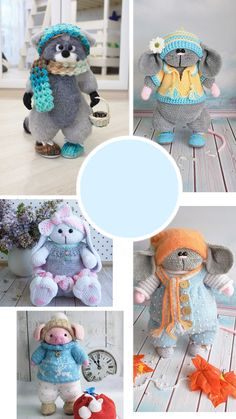 Crochet Animal Patterns, Crochet Doll Pattern, Crochet Patterns Amigurumi, Crochet Dolls, Doll Patterns, Diy Crochet And Knitting, Crochet Things, Crochet For Kids, Knitting Ideas