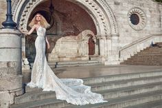This season, Galia Lahav presents both her bridal read-to-wear and haute couture Fall 2016 collections. New Bridal Dresses, 2016 Wedding Dresses, Bridal Gowns, Wedding Gowns, Wedding Blog, Bridal Lace, Bridal Style, Bridal Reflections, Most Beautiful Wedding Dresses