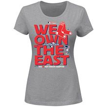 Boston Red Sox Women's 2013 AL East Division Champions T-shirt