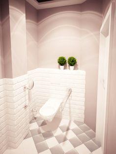 kawiarnia w Tarnowie - toaleta Alcove, Interior, Home, Alcove Bathtub, Simply Home, Interior Design, Bathtub