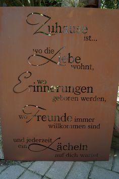 Prima terra gl ck gartenstele edelrost stele dekoration for Rostschilder garten