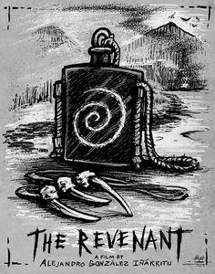The Revenant Fan Poster Archival Print by AlbrightIllustration