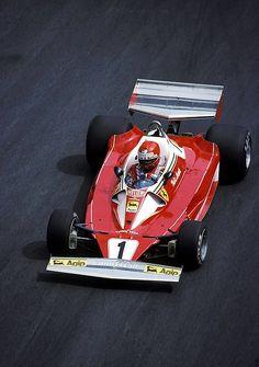 f1pictures: Niki Lauda Ferrari 1976