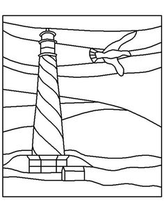 lighthouse coloring pages for kids http fullcoloring com