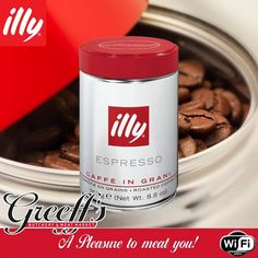 What is a morning without with a delicious cup of illy #coffee - Smooth balanced and pleasantly nuanced, this coffee is both sweet and rich, and is enhanced by #aromatic notes of caramel and chocolate. Available from Greeffs Butchery & Cafe #Greeffs