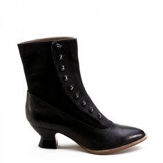 Vintage Style Boots Victorian Civil War Manhattan Boots