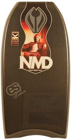 NMD Board Eddie Solomon Tribute PP Bodyboard, Black, 41-Inch