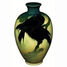 1500: Rookwood vase, Sea Green glaze, Matt Daly : Lot 1500