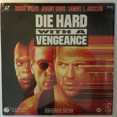 Die Hard with a Vengeance Laserdisc