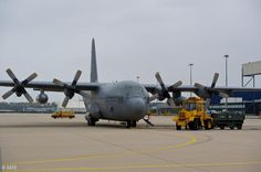 Royal Netherlands Air Force Lockheed C-130 Hercules.