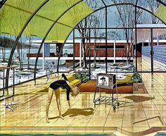 These Exquisitely Detailed Paintings Show How Motorola Envisioned The Future In 1961 - Business Insider
