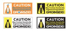 If corporations won't label GMO foods, WE the people will!