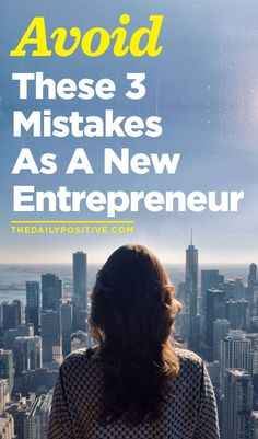 Mistakes to avoid as a new entrepreneur (small business tips)