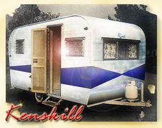 Kenskill Vintage Camper
