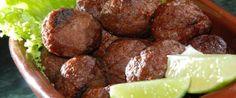 Foto - Receita de Bolinho de carne moída