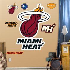 Miami Heat Logo-Fathead Decal | Set