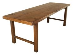 Antique French Monastic Dining Table