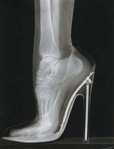 High heel anatomical.