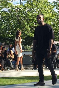 Everything That Happened at Kanye West's Yeezy Season 4 Fashion Show  The show went down at Roosevelt Island.  read more
