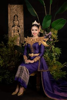 Wedding Outfits, Traditional Wedding, Cambodia, Victorian, Asian, Costumes, Amazing, Beautiful, Dresses