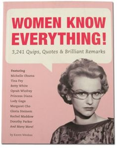 women know everything book