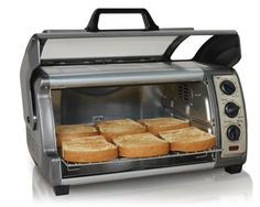 Hamilton Beach 6 Slice Convection Toaster Broiler Oven Candy