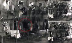 Spooky ghost filmed floating through Brazilian jail walls