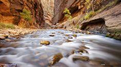 The Narrows, Virgin River, Zion, Utah