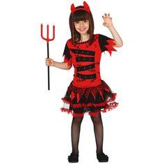 Disfraz de Devil Monster para niña