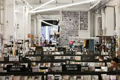 Rough Trade, Brick Lane - is just the paradise of musicians and music appreciators. It's hard to find such big music shops like Rough Trade in other countries like Italy. So you just feel the attraction and you need to go in!