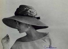 Couture Allure Vintage Fashion: Designer Hats from Paris - 1960