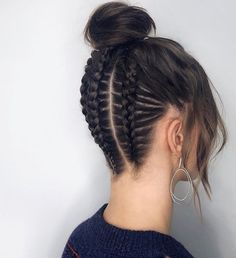 Braided Hair What are all the different types of braids? braided hair Short braided hairstyles Dutch in 2020 Easy Hairstyles For Medium Hair, Box Braids Hairstyles, Pretty Hairstyles, Elegant Hairstyles, Prom Hairstyles, School Hairstyles, Black Hairstyles, Fashion Hairstyles, Short Hair Styles Easy