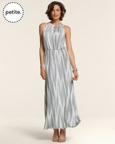 Okay, so I just bought the Chico's Petite Time to Shine Chevron Maxi Dress at Chicos @ Partridge Creek.  Happy Mum's Day to me!