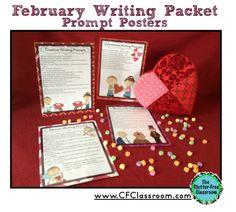 Looking for writing prompts for Valentine's Day and the entire month of February? Click through to see if this packet would work for your 2nd, 3rd, 4th, or 5th grade students. $